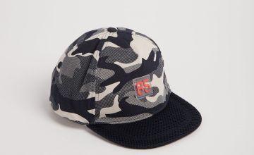 Navy Camo Fashion Cap