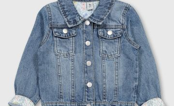 Blue Denim Button-Through Jacket
