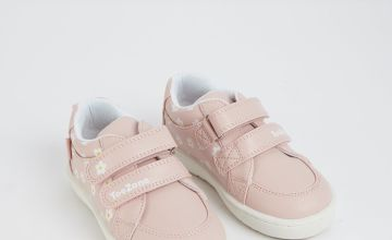 TOEZONE First Walkers Daisy Print Pink Trainers