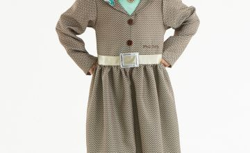 Roald Dahl Miss Trunchbull Brown Costume
