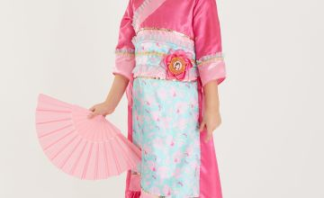Disney Princess Mulan Pink Costume
