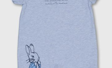 Peter Rabbit Blue Romper