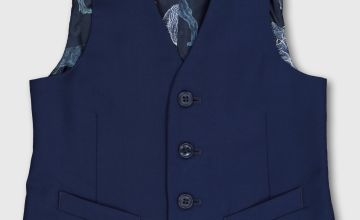 Blue Formal Waistcoat
