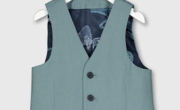 Green Formal Waistcoat
