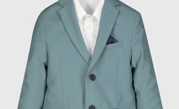 Green Formal Suit Jacket