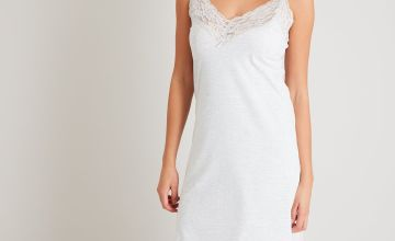 Light Grey Marl Maxi Nightdress
