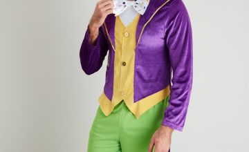 Roald Dahl Willy Wonka Purple Costume