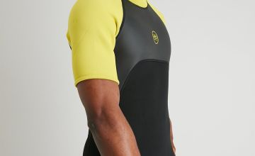 Yellow & Grey Short Leg Wetsuit