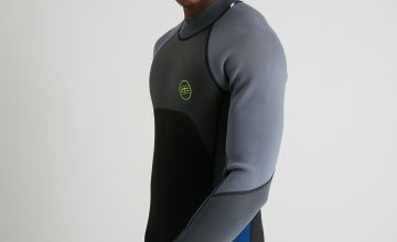 Grey & Navy Long Wet Suit