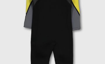 Yellow & Grey Long Wetsuit