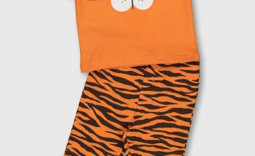 Orange Tiger Pyjamas