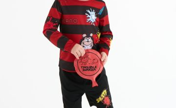 Beano Dennis The Menace Red Costume Set