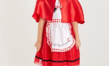 Little Red Riding Hood Dress & Cape Costume