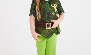 Disney Peter Pan Green Costume Set
