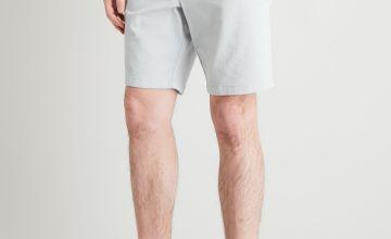 Light Grey Chino Shorts