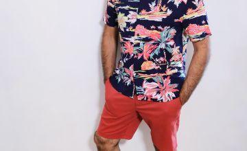 Terracotta Chino Shorts