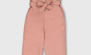Pink Woven Jumpsuit
