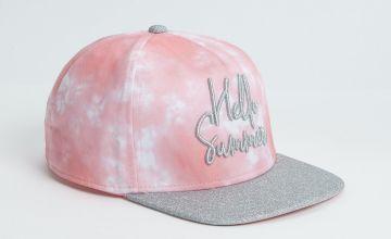 Pink 'Hello Summer' Cap
