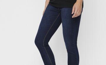 Dark Denim After Birth Jeans