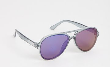Blue Aviator Sunglasses - One Size