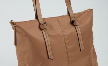 Tan Shopping Bag - One Size