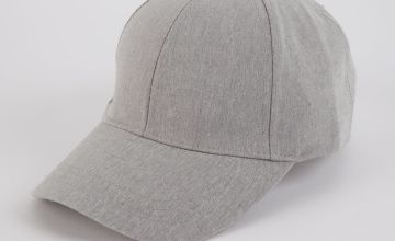 Grey Chambray Cap - One Size