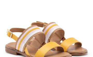 Mustard Dafne Vegan Sandal