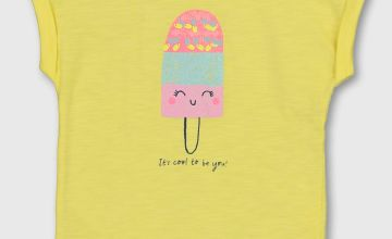 Yellow Ice Lolly T-Shirt