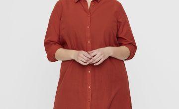 Rust Longline Shirt - 22