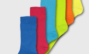 Tropical Brights Stay Fresh Socks 7 Pack