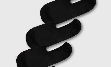 Black No Show Socks 5 Pack
