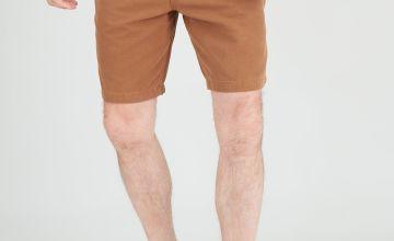 Tobacco Brown Carpenter Shorts