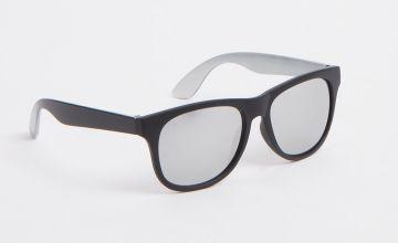 Black & Silver Ombré Sunglasses
