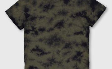 Khaki Tie-Dye T-Shirt