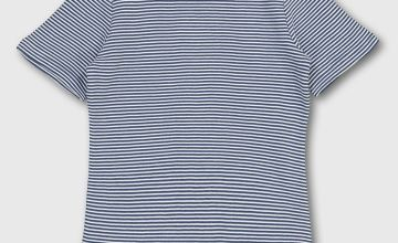 Navy & White Stripe T-Shirt