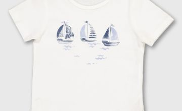 Boat Graphic T-Shirt