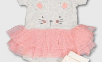 Mouse Tutu Bodysuit & Tights