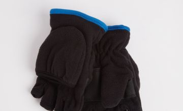 3M Black Fleece Flip Mitts