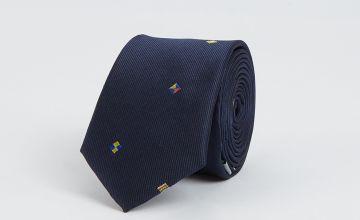 Navy Flag Tie - One Size