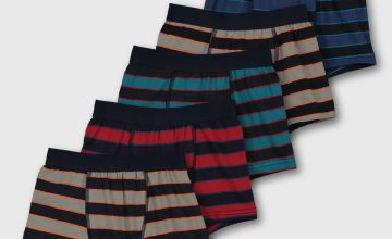 Rugby Stripe Trunks 5 Pack