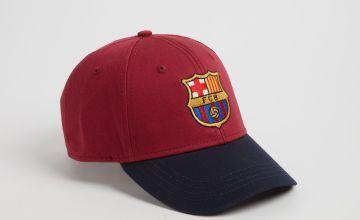 Barcelona Football Club Burgundy Cap - One Size