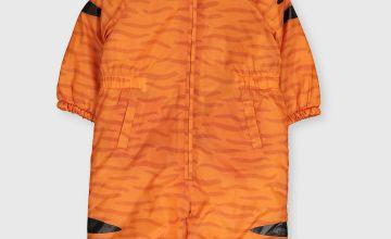 Orange Tiger Snowsuit