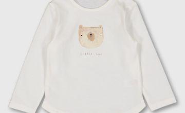 White 'Little Bear' T-Shirt