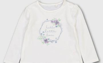 White 'Hello Little Love' T-Shirt