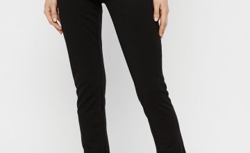 Black Jersey Maternity Trousers