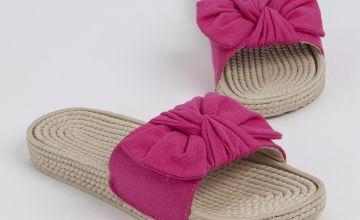 Pink Bow Beach Mule