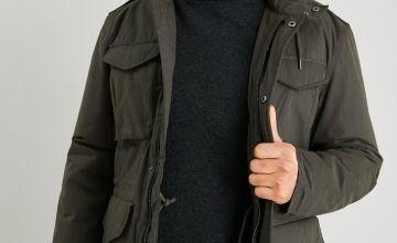 Khaki Wadded Jacket