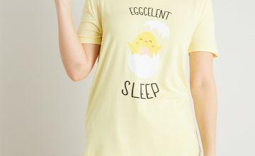 Yellow Eggcelent Pyjama Top