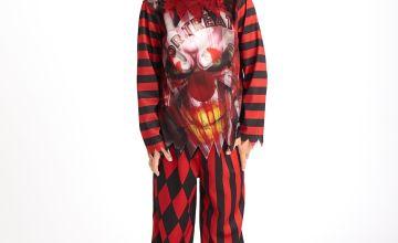 Halloween Scary Clown Costume