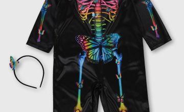 Halloween Rainbow Skeleton All In One